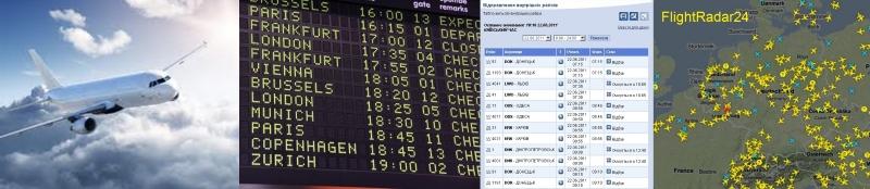 Справочная информация, об авиакомпаниях, рейсах, расписании самолетов