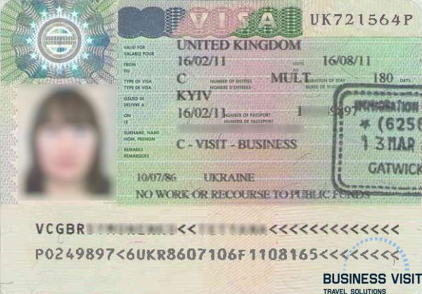 Бизнес-виза в Великобританию 2015
