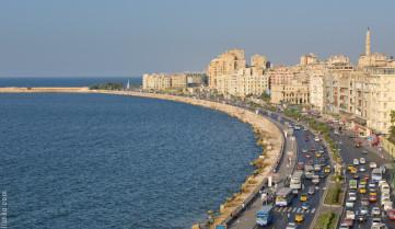 Городской пляж, Александрия