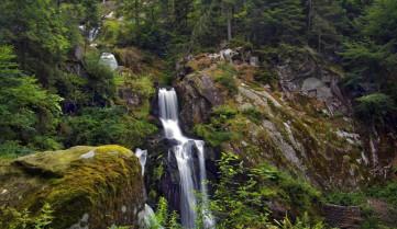 Водопад, Баден-Баден