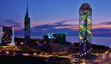 Город ночью, Батуми