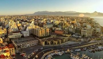 Вид на город, Ираклион