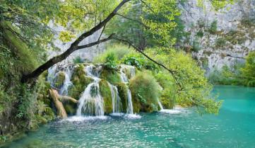 Водопады, Истрия