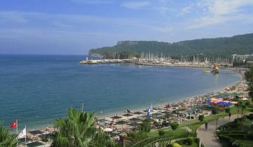 Пляж отеляя, Кемер