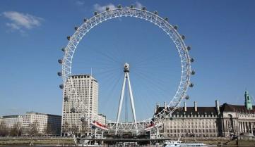 Лондонский глаз, колесо обозрения