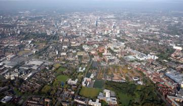 Вид на город, Манчестер