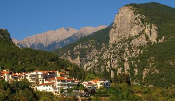 Гора Олимп в Салониках, Греция