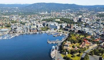 Вид на город, Осло