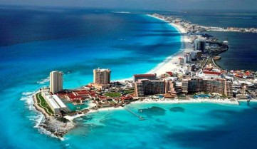 Вид сверху, Канкун