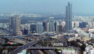 Вид на город, Тель-Авив