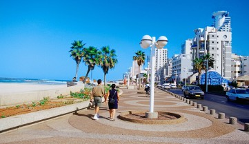 Набережная, Тель-Авив