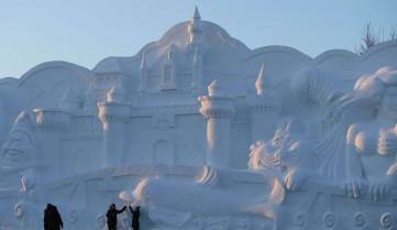 Скульптуры из снега и льда, Ябули