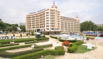 Территория отеля, Золотые Пески