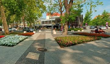 Центр города, Хевиз