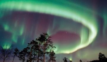 Северное сияние, Лапландия
