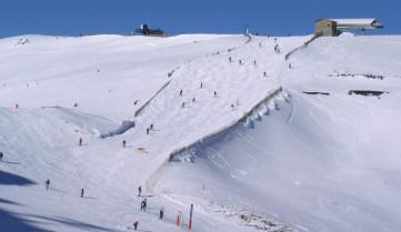 Лыжная трасса Энкамп