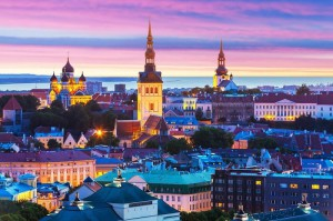Вечерний Таллин