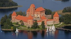 Замок в Вильнюсе