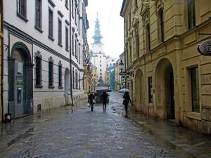 Михайловсике ворота в Братиславе