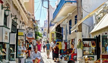 Улицы о.Миконос