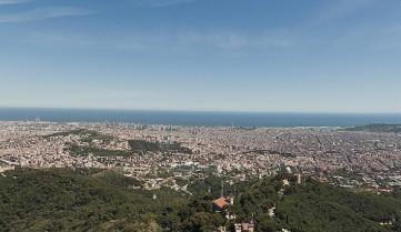 Барселона, Испания, вид на город