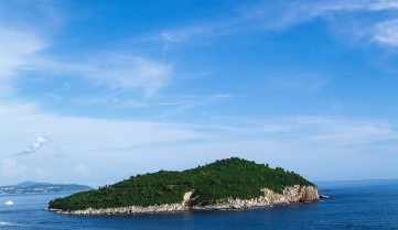 Дубровник, остров Локрум