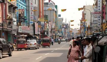 Улицы Коломбо, Шри-Ланка