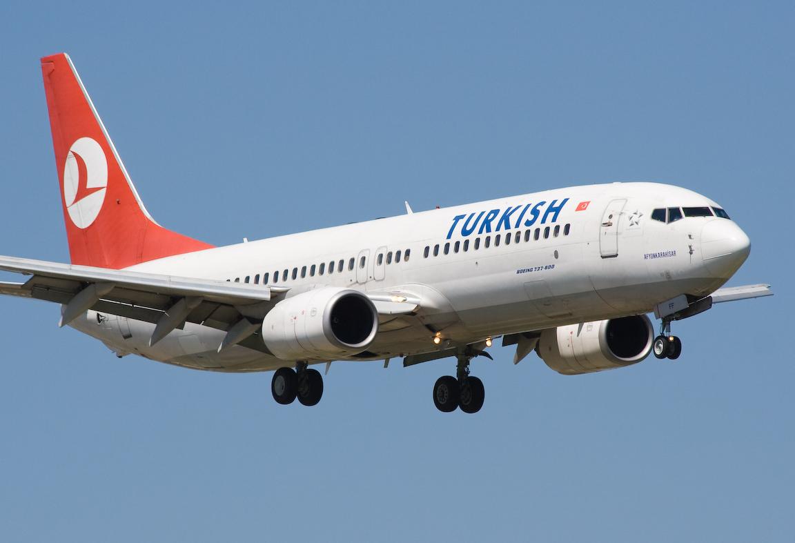Акция на авиабилеты от Turkish Airlines