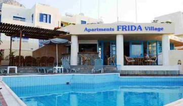 фасад отеля, о. Крит, Греция