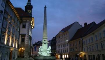 Вечерний Любляна