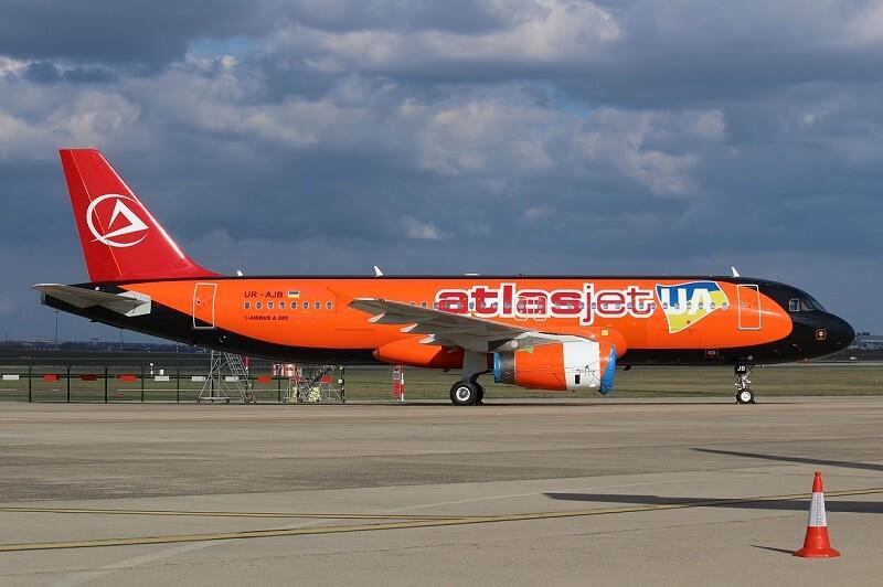 Авиакомпания «Атласджет Украина» сместила запуск рейсов