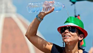 На территории Италии стоит аномальная жара
