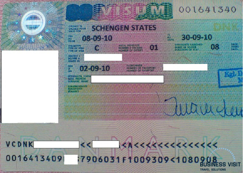 Шенгенская виза в Данию, 2014, турагентство «Бизнес Визит»