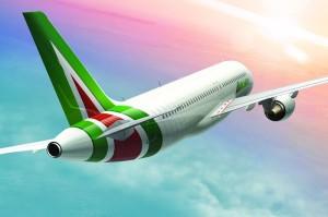 літаки авіакомпанії Alitalia