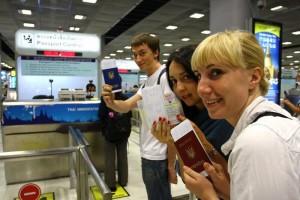 паспортний контроль при вильоті за кордон