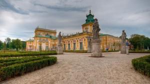 Вілянувскій палац, Варшава