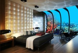 номер в підводному готелі