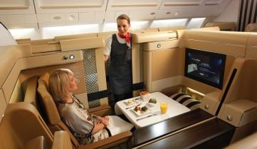 Etihad Airways бизнес-класс