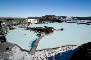 блакитна лагуна в Ісландії