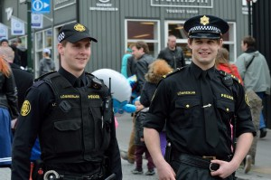 поліція в Ісландії