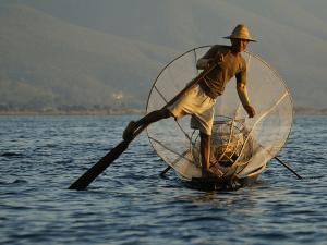 рибалка в М'янмі