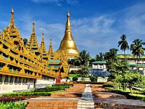 Пагода Швегадон, М'янма