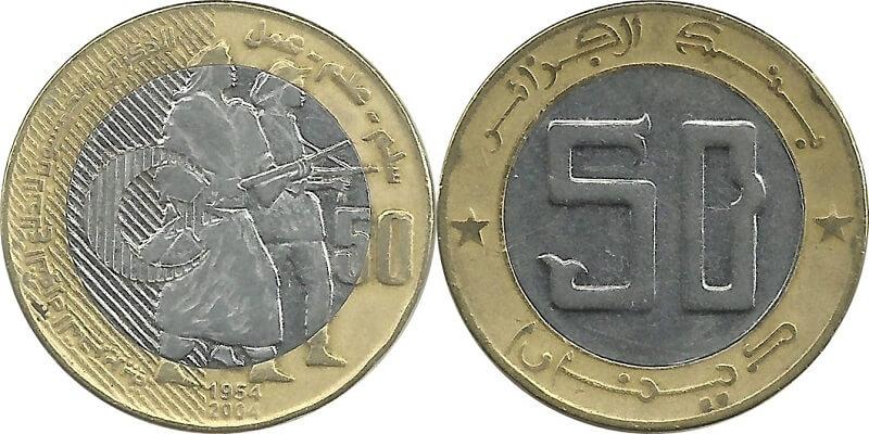 монети Алжиру