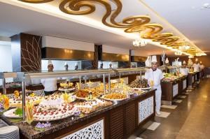 шведський стіл в готелі, Туреччина