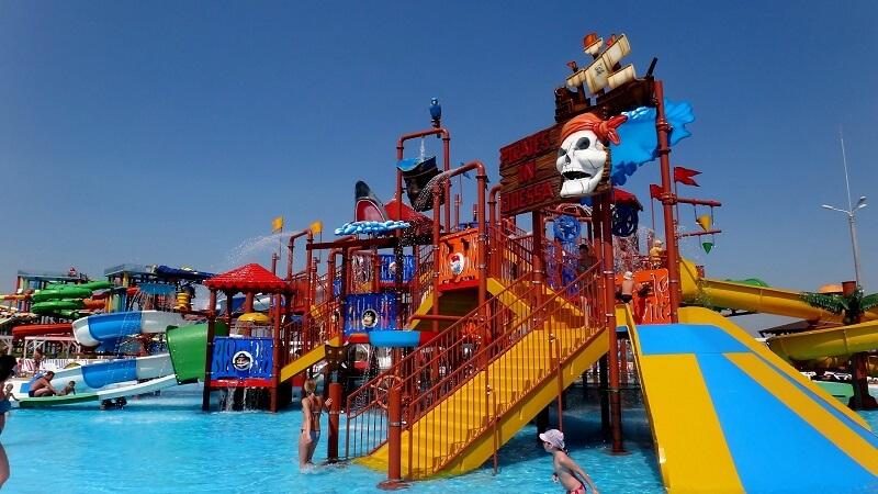 дитячі гірки в аквапарку, Одеса