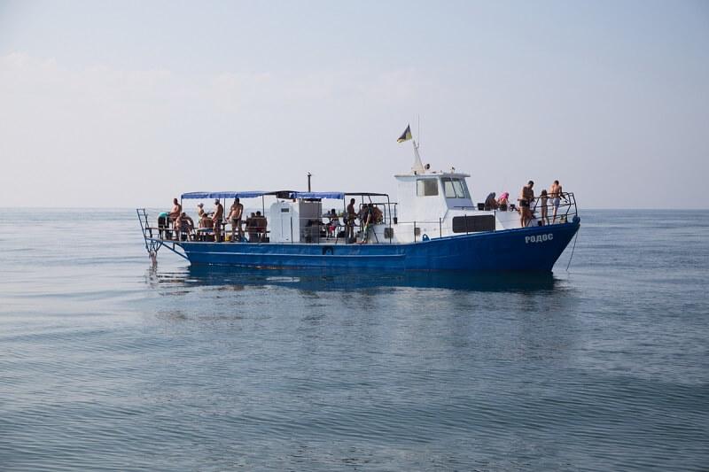 риболовля у відкритому морі