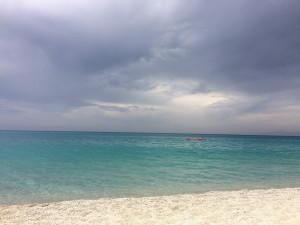Морський пляж в Італії