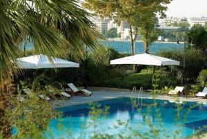 Бассейн отеля Makedonia Palace 5*, Салоники, Греция
