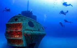 підводний мир в Ізраїлі
