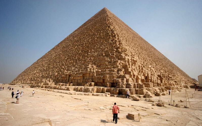 Пирамида хеопса как сделать